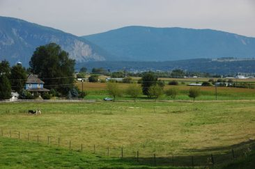 Salmon River Valley Farms near town, along Foothill Road